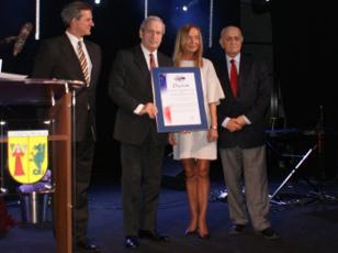 Wójt Gminy Lesznowola Maria Jolanta Batycka – Wąsik uhonorowana Dyplomem Europejskiego Klubu Biznesu Polska.