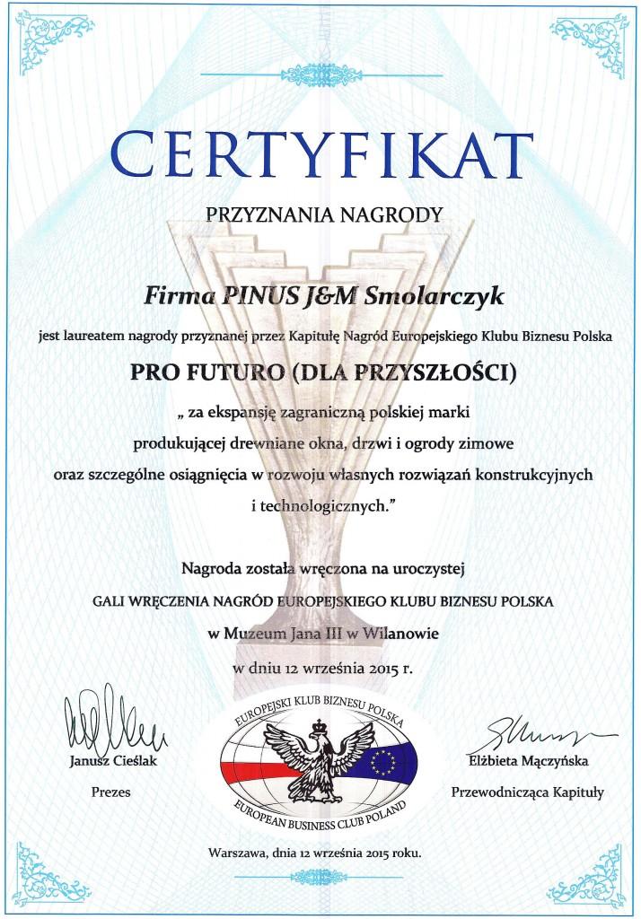 Certyfikaty Nagród EKB Polska 2015 010