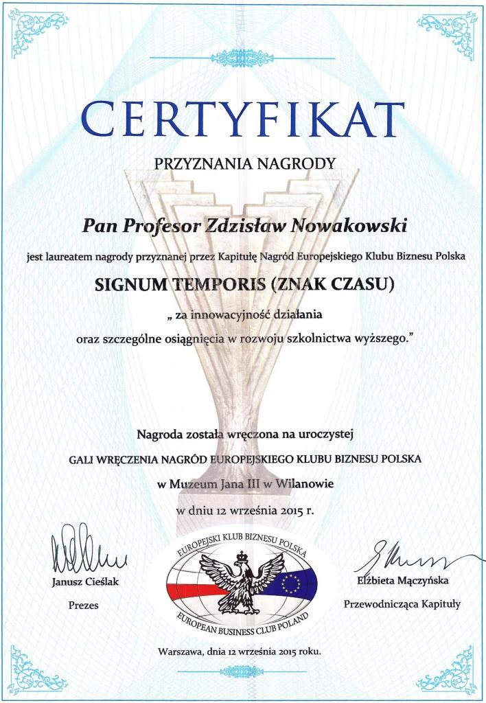 Certyfikaty Nagród EKB Polska 2015 012