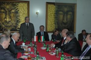 Spotkanie Ambasadorem Węgier, fot. Stanisław Godula