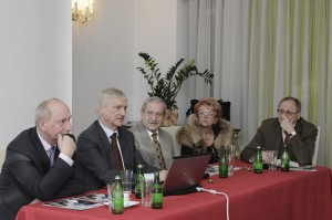 Prezes PAN Profesor Michał Kleiber gościem Europejskiego Klubu Biznesu Polska