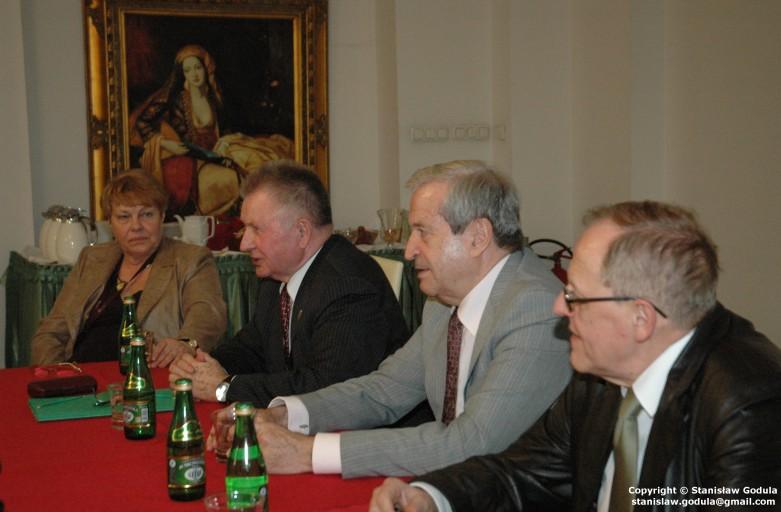 Prof. Longin Pastusiak gościem EKB Polska