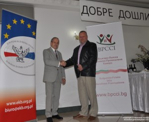 Janusz Cieślak, President of the European Business Club Poland and Michał Bednarek, President of the Bulgarian-Polish Chamber of Commerce and Industry