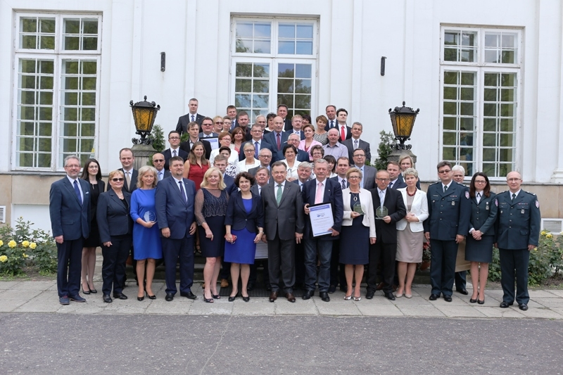 Laureaci Znaku Jakości Przyjazny Urząd 2015 spotkali się na uroczystości w Pałacu PAN w Jabłonnie