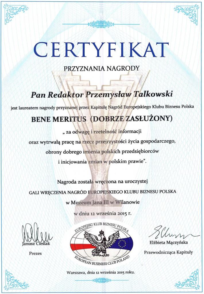 Certyfikaty Nagród EKB Polska 2015 007