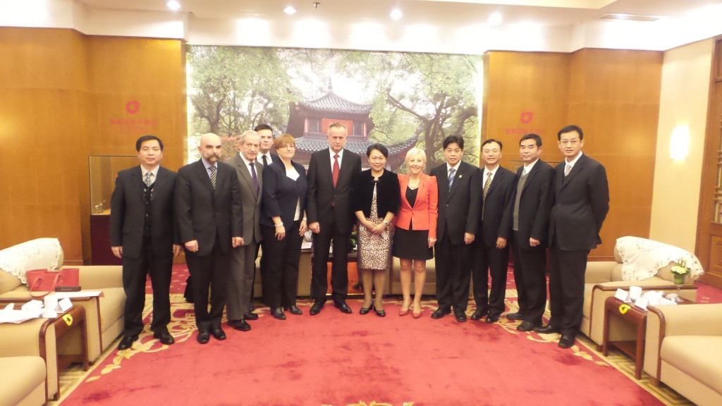 European Business Club Poland visits China.