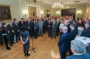 The meeting of the Undersecretary – Mrs Katarzyna Kacperczyk with the representatives of Polish companies operating abroad. Fot. Karolina Siemion-Bielska/MSZ.